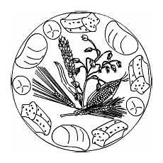 malvorlagen erntedank kostenlos ernte dank mandala brot erntedankfest basteln erntedank