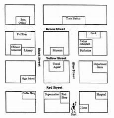 giving directions worksheets easy 11675 10 best images of map worksheet neighborhood maps worksheets printables printable