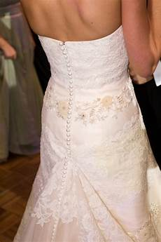How To Bustle A Wedding Gown