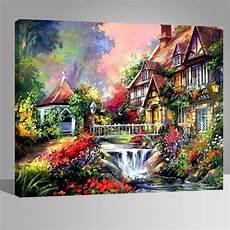 Beau Paysage Peintures Diy 40x50cm Avoir Diy Peinture