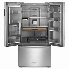 Kitchenaid Counter Depth Refrigerator by Kitchenaid Krfc704fps 23 8 Cu Ft 36 Quot Counter Depth