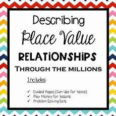place value relationships 4th grade worksheets 5526 place value relationships guided notes practice grade 4 tpt