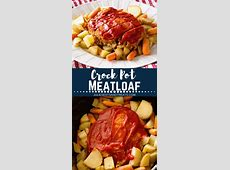 yummy crock pot meatloaf and potatoes_image
