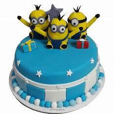 minions birthday cake 100 eggless free shipping