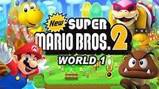 Malvorlagen Mario Bros 2 New Mario Bros 2 World 1