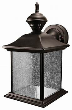 city carriage style black finish motion sensor outdoor light traditional outdoor lighting