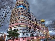 darmstadt garage of design forest spiral hundertwasser building