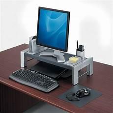 support ecran bureau support pour 233 cran d ordinateur hauteur r 233 glable vilacosy