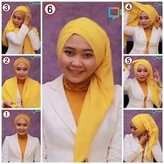 Tutorial Cara Memakai Jilbab Segi Empat