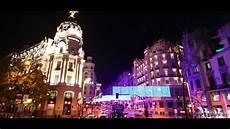 weihnachten in spanien in madrid spain 2017