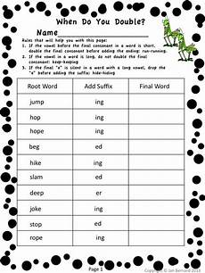 spelling worksheets the consonant 22353 freebies s den curriculum bug out for third grade grammar two free pages plus