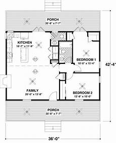 2 bedroom cottage floor plans cottage style house plan 2 beds 1 5 baths 954 sq ft plan