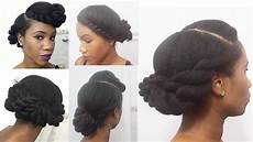 3 twisted roll tuck natural hairstyles youtube