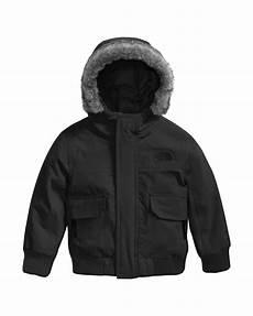 the gotham hooded jacket w faux fur trim black size 2 4t neiman