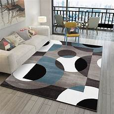 teppich wohnzimmer modern geometric modern carpets for living room home nordic