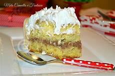 torta crema pasticcera e nutella torta classica di compleanno con crema pasticcera e crema al cioccolato pasticceria torte e