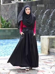 Kivitz Arina Top And Wafa Skirt Gaya Jilbab