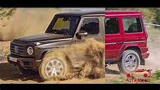 vs new mercedes g class spot the difference