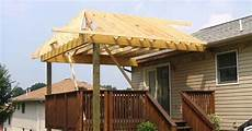 how to build a roof over a deck ehow uk