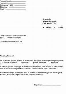 Exemples De Mod 232 Les Lettre De Cloture De Compte Bancaire