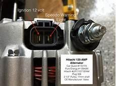 hitachi alternator wiring connections jaguar electrical components valve chatter