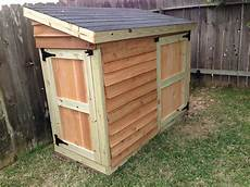 White Lawnmower Shed Diy Projects Backyard
