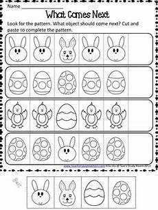 easter worksheets 18849 easter patterns worksheets by sue s study room tpt