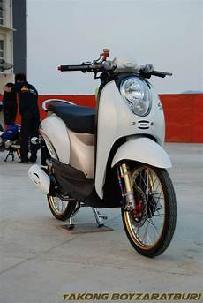 Scoopy Modifikasi Simple by 89 Scoopy Thailook Simple Kumpulan Modifikasi Motor