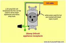 wiring diagram for a 20 240 volt receptacle in 2019 outlet wiring electrical wiring