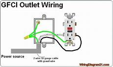 gfci outlet wiring diagram wiring in 2019 outlet wiring home electrical wiring electrical
