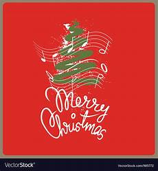 merry christmas song royalty free vector image