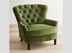 Eliza Forest Velvet Armchair   living room   Velvet