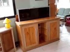 Meuble Tv Escamotable Ranger Votre Ecran Www Auboismassif