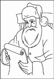 weihnachtsmann und nikolaus malvorlagen ausmalbilder