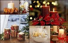 decorazioni con candele candele natalizie fai da te 3 idee semplici da