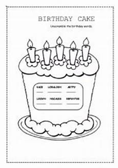 birthday cake printable worksheets 20255 birthday cake esl worksheet by valleygirl