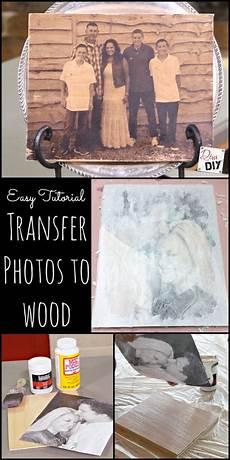 12 Diy Ideas To Transfer Photos To Wood Pretty Designs