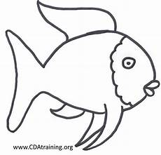 picture rainbow fish template fish coloring page