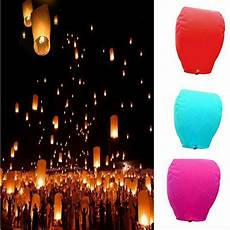 chinese paper lanterns flying sky floating wishing l for wedding party new ebay
