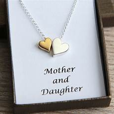 Mutter Tochter Kette - necklace gold silver by jewelleryjkw