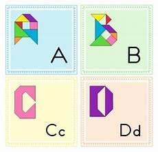 tangram kinder malvorlagen word tangram alphabet letters word wall letters puzzle