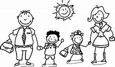 happy family and children coloring page family coloring pages kids printable coloring pages