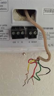 honeywell thermostat rth2510 wiring question etc doityourself com community