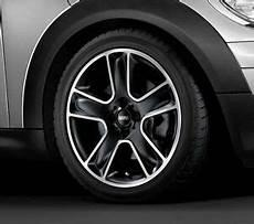mini genuine 17 quot inch light alloy wheel bullet r111