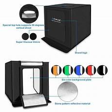 Puluz Pu5080 80cm 5500lm 5500k White by Puluz Pu5040 40cm Led Portable Photo Studio Box Lightbox