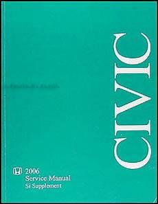 motor auto repair manual 2006 honda civic si interior lighting 2006 honda civic si repair shop manual supplement original