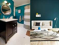 Petrol Farbe Kombinieren Ideen Was Zu Dieser Wandfarbe