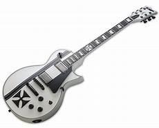 esp ltd iron cross esp ltd iron cross snow white electric guitar w reverb