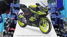 Yamaha R15 V3 Modifikasi by Modifikasi Striping All New Yamaha R15 V3 0 By Motoblast