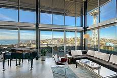 With Loft Seattle by Penthouse Loft In The Beautiful City Of Seattle Showcasing